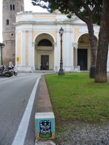 Invader, The Hidden Tower, Ravenna, piazza Duomo