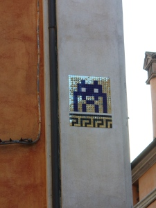 Invader, Ravenna, via Guidone, 2015